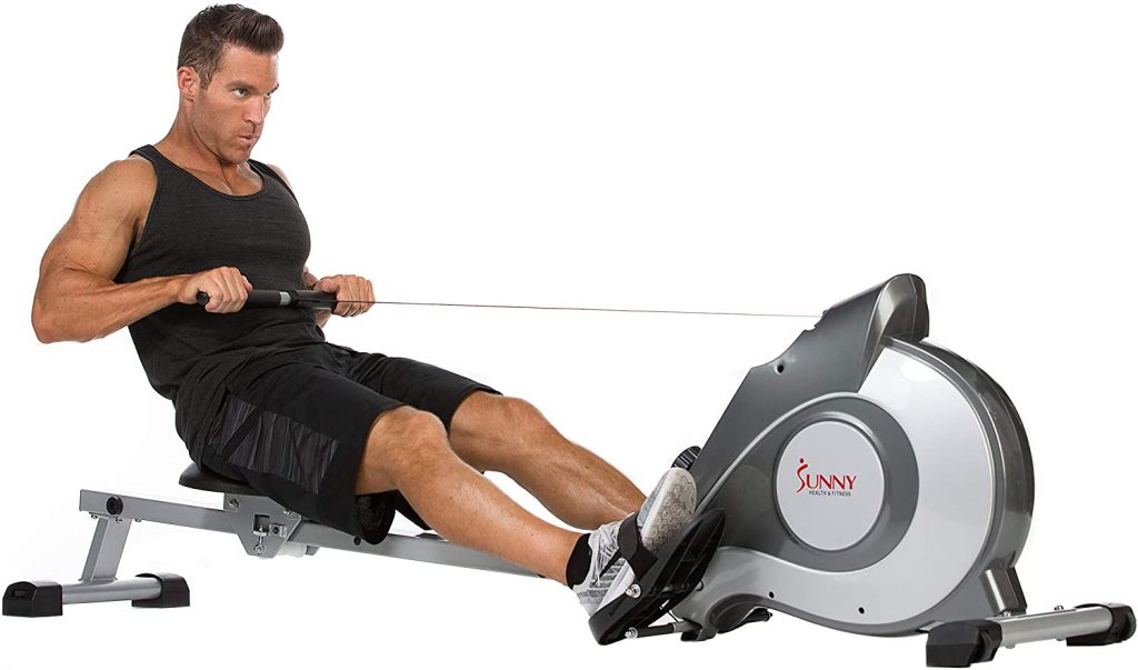Sunny Health Fitness 5515 Magnetic Rowing Machine