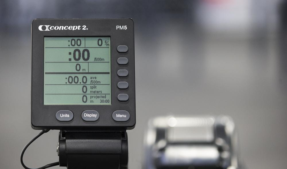 best water rowers: fitness monitor