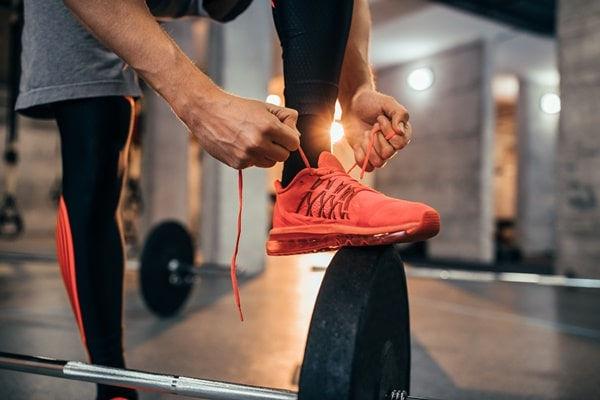 rowing shoes machine